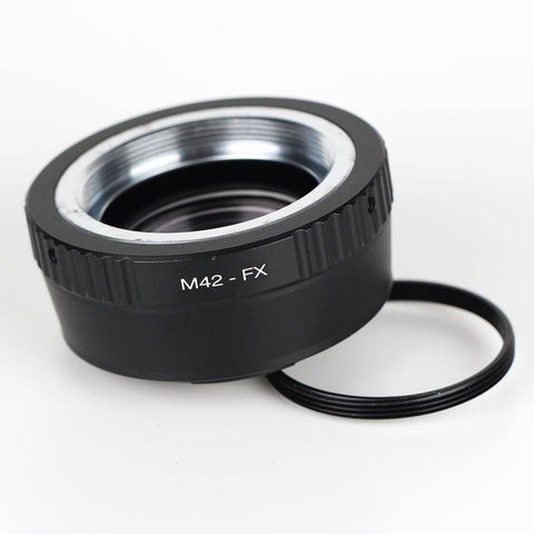 Leica M39-Fujifilm X Speed Booster Focal Reducer Adapter - Pixco