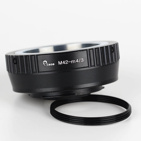 Leica M39-Micro 4/3 Speed Booster Focal Reducer Adapter - Pixco