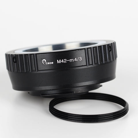Leica M39-Micro 4/3 Speed Booster Focal Reducer Adapter - Pixco - Provide Professional Photographic Equipment Accessories