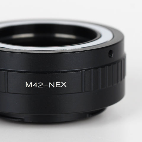 Leica M39-Sony NEX Speed Booster Focal Reducer Adapter - Pixco