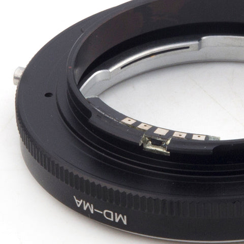 Minolta MD-Sony Alpha Minolta MA Macro AF Confirm Adapter - Pixco - Provide Professional Photographic Equipment Accessories