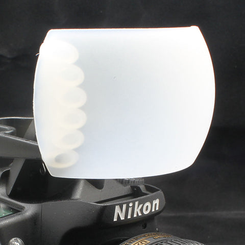 Pop-Up Flash Diffuser Cover In white Color FD-32 - Pixco