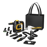 McCulloch MC1230 Handheld Steam Cleaner Chemical-Free Cleaning with Extension Hose