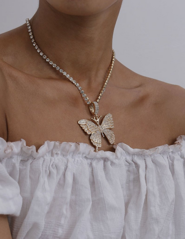 wholesale vendor buy now pay later 10 twenty 2 shoptentwentytwo butterfly necklace