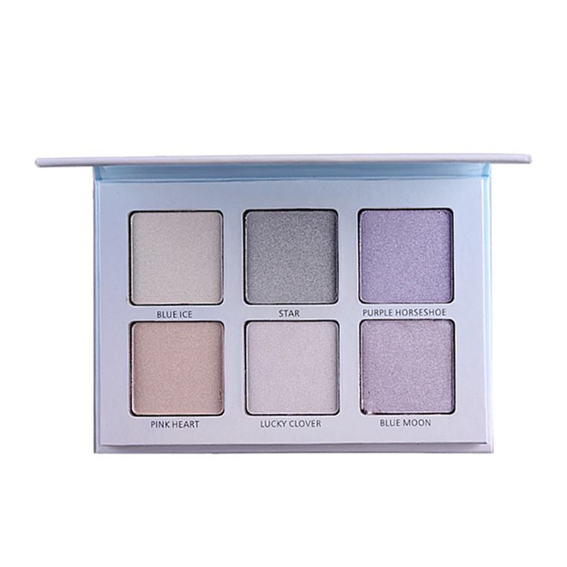 Wholesale Professional Good Quality Women 6 Colors Optional Silhouette Strengthening Highlighter Powder 10 Twenty 2