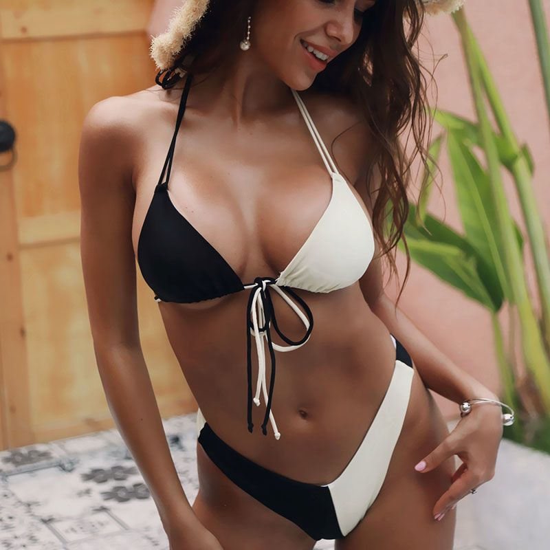 30 Set's) Sexy Lace-up Two-pieces Bikini Swimwear