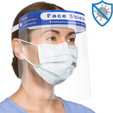 Wholesale Transparent Anti-splash Protective Face Shield Mask 10 twenty 2
