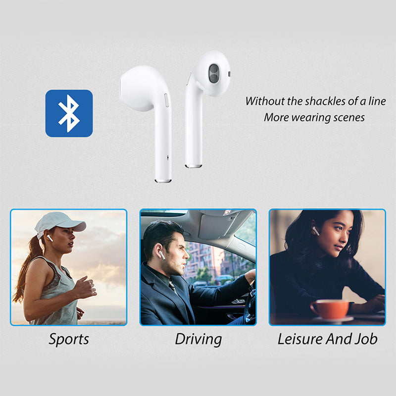 Wholesale i7s Mini Wireless Bluetooth 5.0 Sports Earphones With Charging Box 10 twenty 2