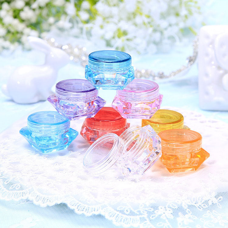 Wholesale Empty Plastic Clear Cosmetic Jars Makeup Container 10 Twenty 2