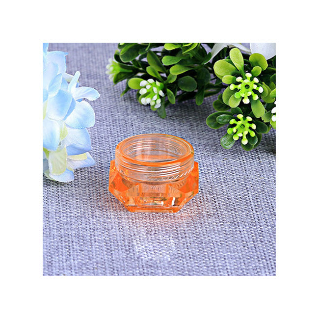 30 Set's) Clear Cosmetic Jars Makeup Container