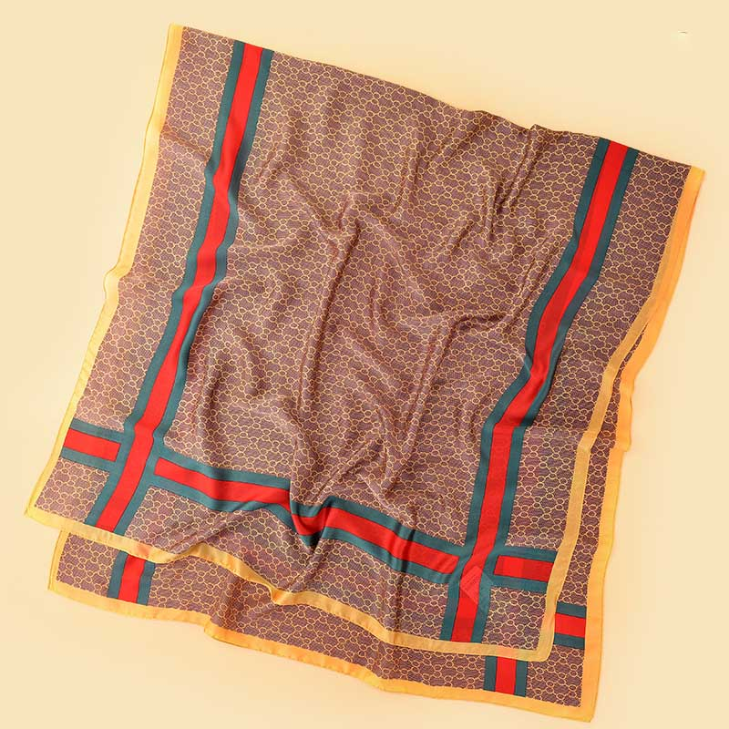 30 Set's) Geometric Printed Square Scarves