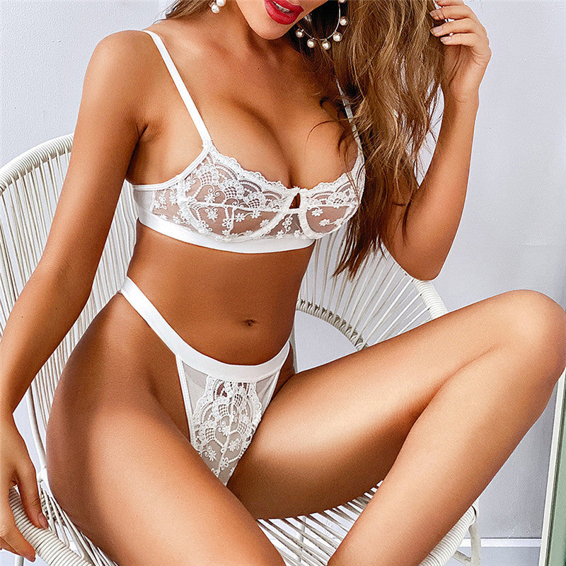 30 Set's) Lace Ultra-thin Bra And Panties Underwear
