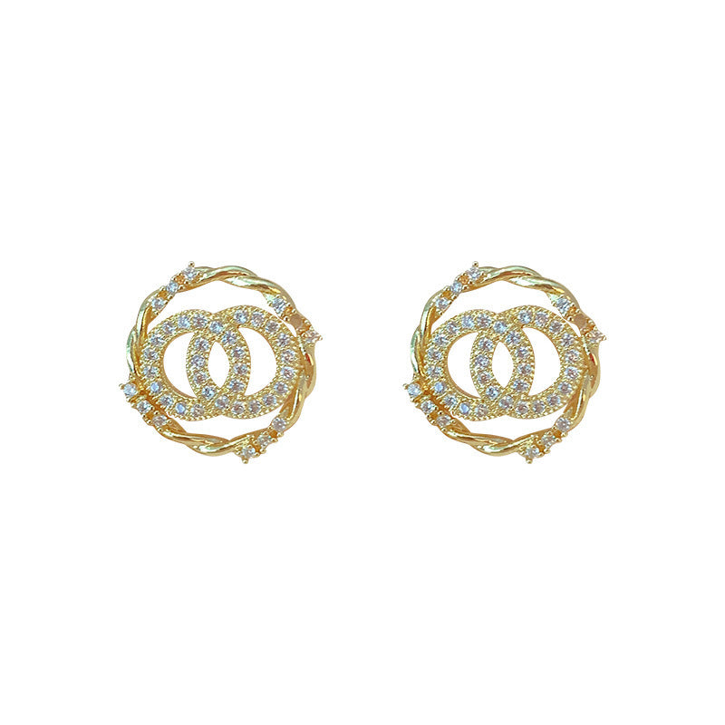 (30 Set's) Women Simple Irregular Shaped Rhinestones Decor Earrings-10 TWENTY 2 RETAIL©