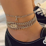 30 Set's) Letter Figure Design Anklets Set-10 TWENTY 2 RETAIL©
