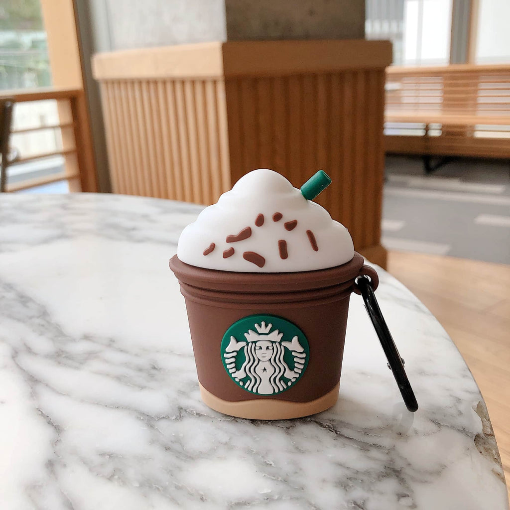 Starbucks Coffee Cup Shape Apple AirPods Case wholesale vendor 10 twenty 2 retail happy new year 2021