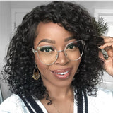30 Set's) Small Curly Mid-Length Wig