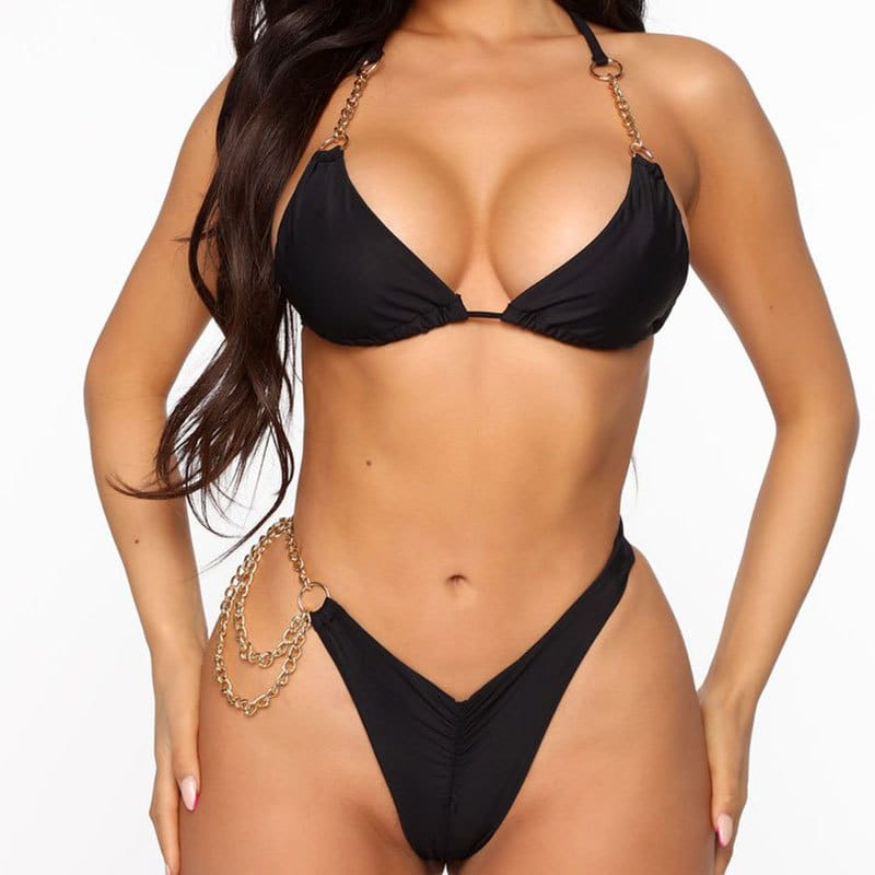 12 Set's) Wholesale S-L Women Sexy Solid Color Bikini-10 TWENTY 2 RETAIL©