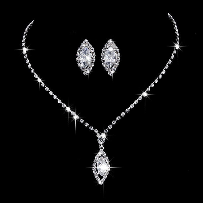 30 Set's) Bride Classic Necklace And Earrings Set-10 TWENTY 2 RETAIL©