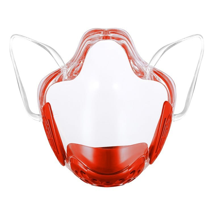 Wholesale Transparent Lip Language Protective Mask 10 twenty 2