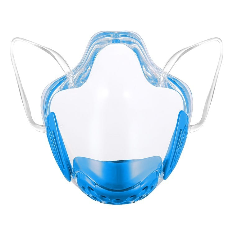 30 Set's) Transparent Lip Language Protective Mask