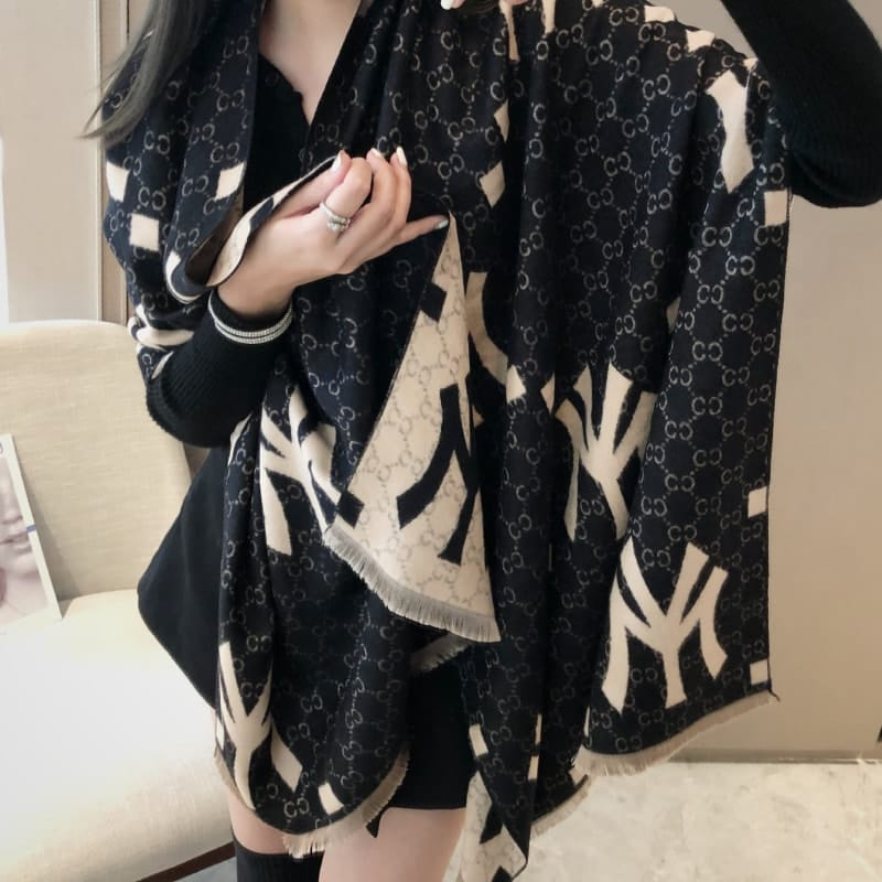 new york gucci Wholesale Fashion Letter Pattern Imitation Cashmere Scarf