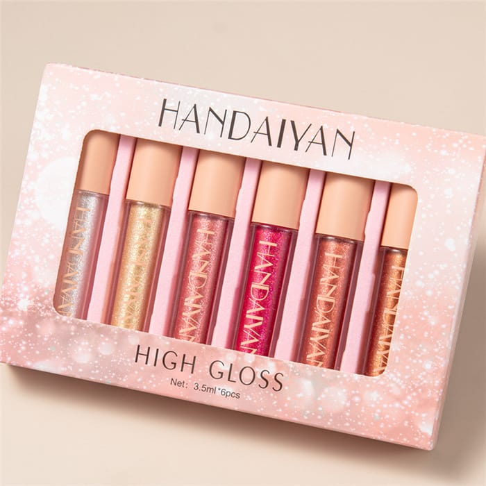 30 Set's) Bright Color Moisturizing Lip Gloss