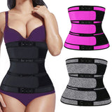 Wholesale S-4XL Women Fashion Buckle Design Elastic Waistband FITNESS 10 TWENTY 2