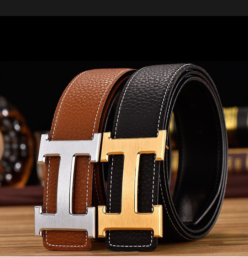 30 Set's) H Buckle PU Belt