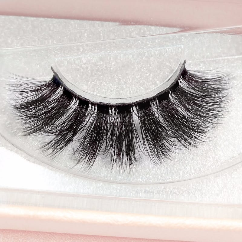 1 Pair 3D Imitation Mink Hair False Eyelashes