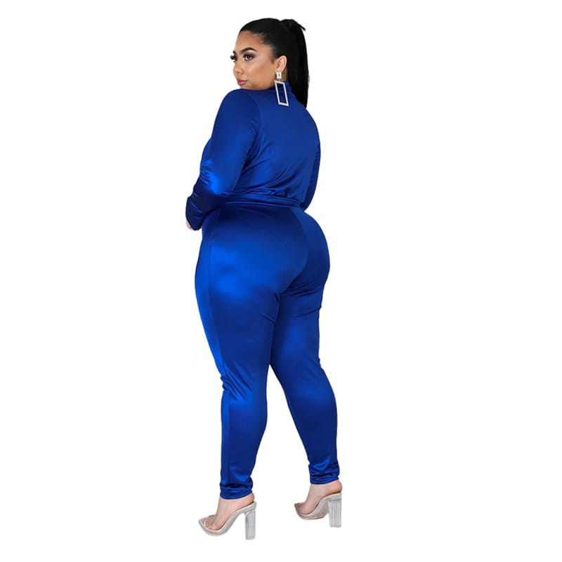 30 Set's) Solid Color V-neck Bodysuit And Pants Two Pieces Set-10 TWENTY 2 RETAIL©