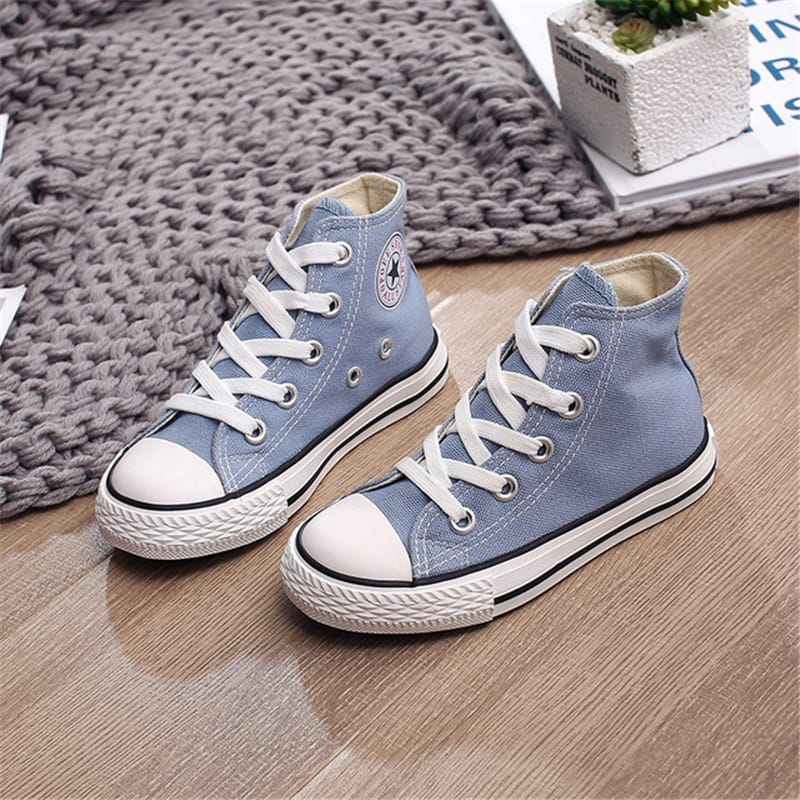 30 Set's) Wholesale Kids Classic Solid Color Lace-up Casual Shoes-10 TWENTY 2 RETAIL©