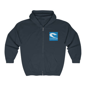 Campsurf Jason -  Full Zip Hooded Sweatshirt