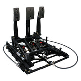 Tilton Floor Mount Underfoot 3 Pedal Box 850 Series with Slider