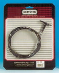 Black Handle Pull Cable 1.5