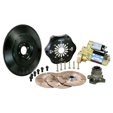 Chevy Clutch Flywheel Assembly