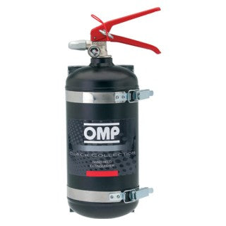 OMP Extinguisher - Steel Hand Held 2.4L