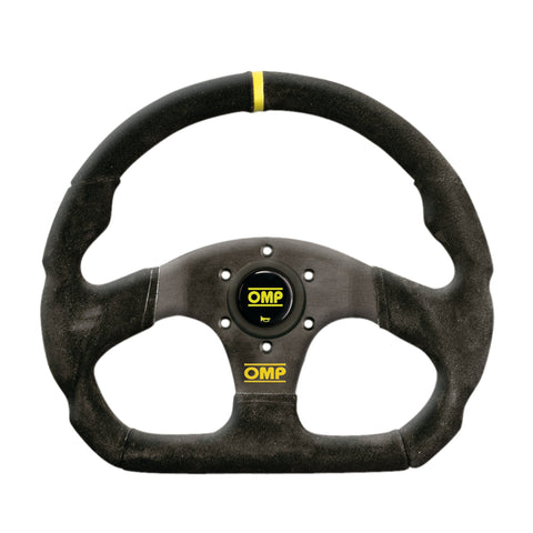 OMP Steering Wheel - Superquadro 330 Flat