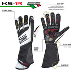 OMP KS-1R Kart Gloves