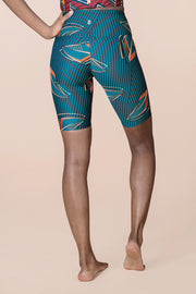 MSLux Urban High Waist Cycling Shorts