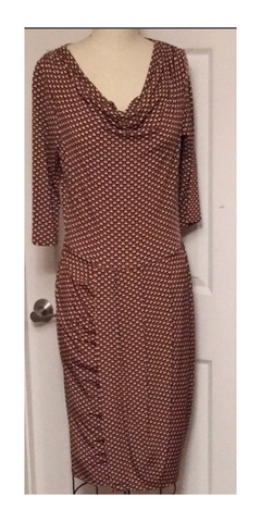 Ava Cowl Neck Dress
