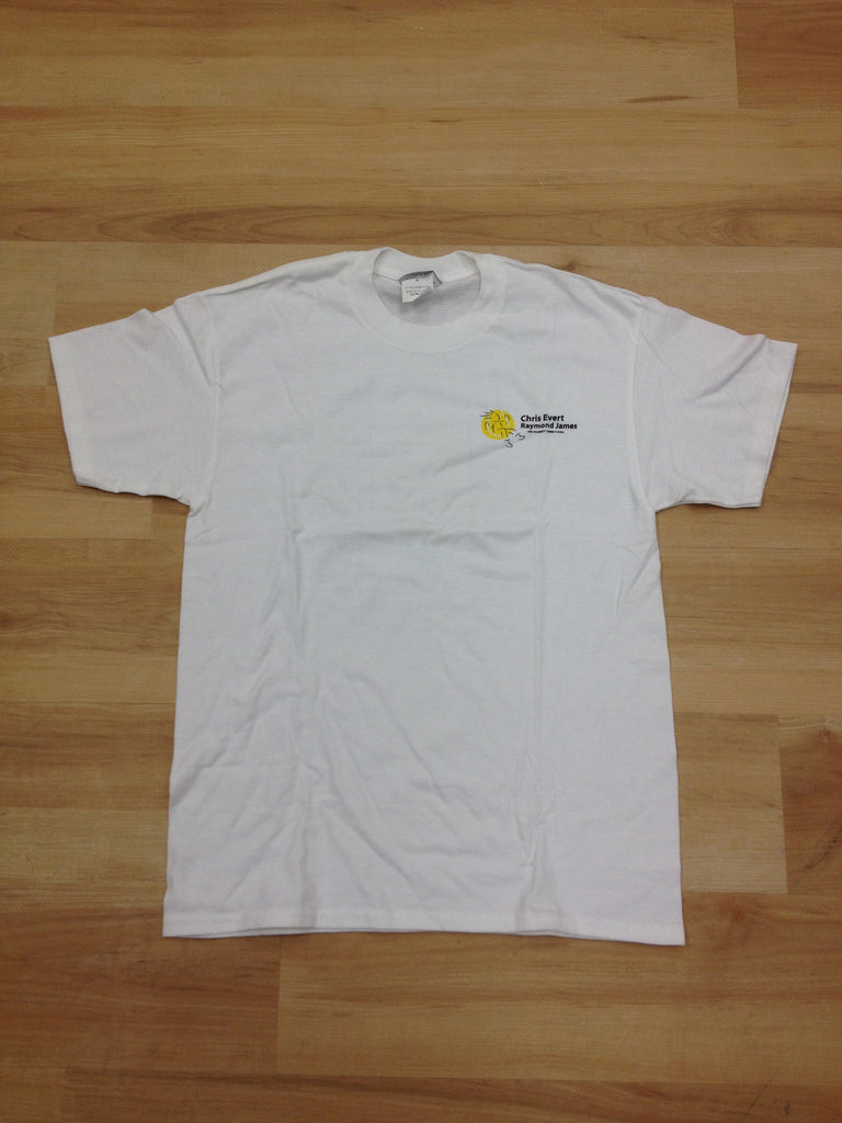 "Men ""Chrissie's Court"" T-Shirt White"
