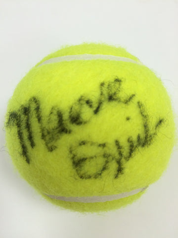 Maeve Quinlan Autographed Tennis Ball