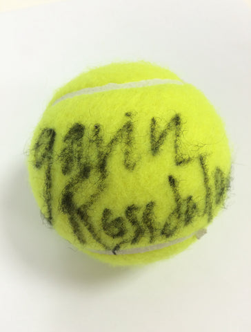 Gavin Rossdale Autographed Tennis Ball