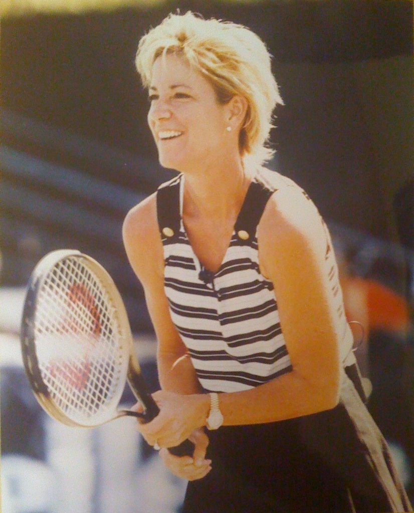Personalized Chris Evert Autographed Picture