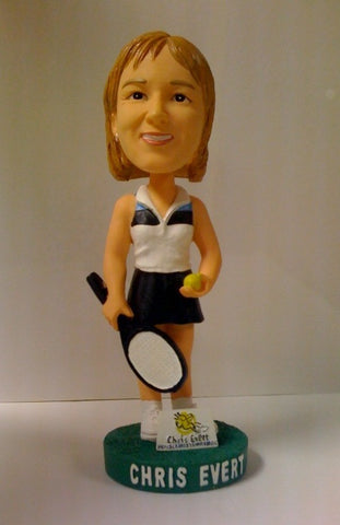Chris Evert Collectors Item Bobblehead