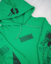 Load image into Gallery viewer, Champloo x Project Mori Hoodie (GREEN)