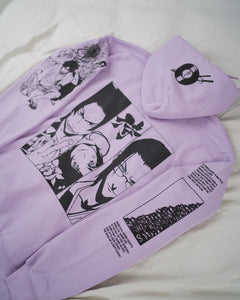 Champloo x Project Mori Hoodie (LAVENDER)