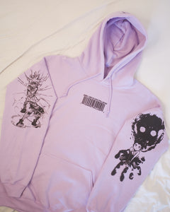 HXH Anger x and x Light Hoodie (LAVENDER)