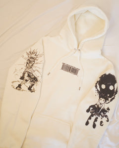 HXH Anger x and x Light Hoodie  (BONE) Heavyweight