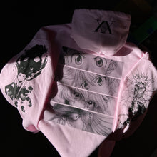 Load image into Gallery viewer, HXH Anger x and x Light Hoodie (LIGHT PINK)